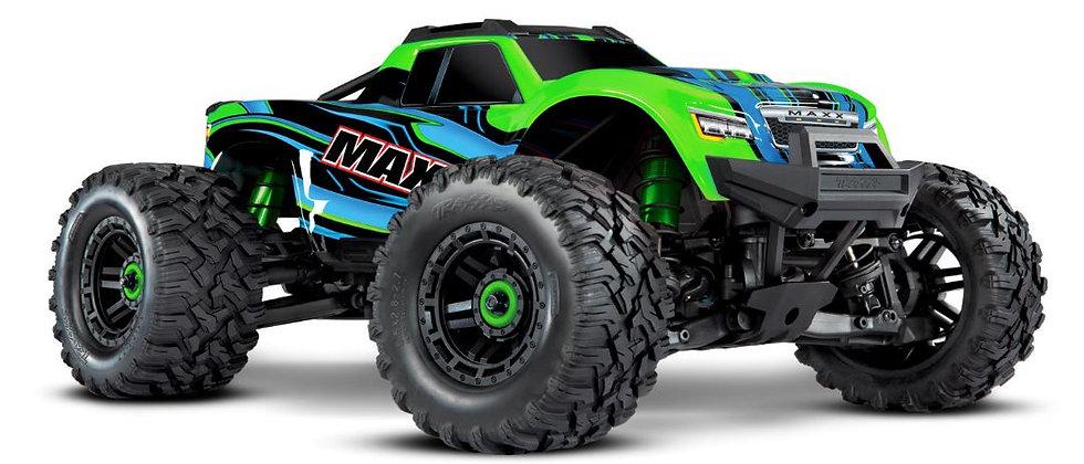 Traxxas Maxx 1/10 Brushless RTR 4WD Monster Truck (vert)w/TQi 2.4GHz RadioTSM