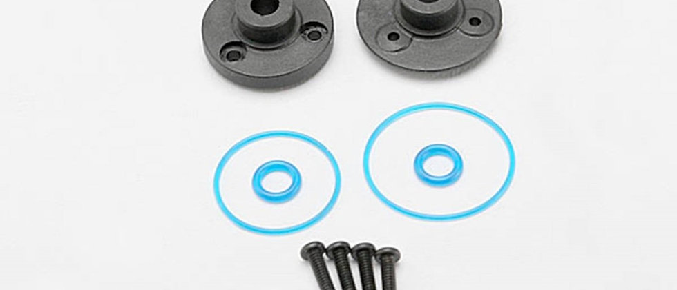 TRA7080 Traxxas Cover Plates, Differential (Front or Rear)