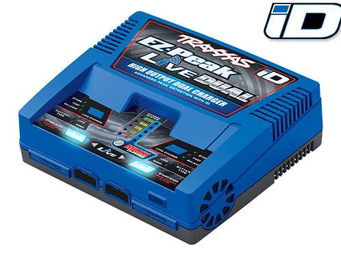 Traxxas 2973 Charger, EZ-Peak Live Dual, 200W, NiMH/LiPo with auto iD