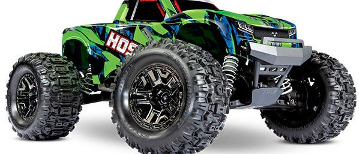 90076-4 Hoss 4X4 VXL 3S 4WD Brushless RTR Monster Truck (Green) w/TQi 2.4GHz Rad