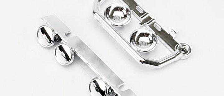 TRA5634 Traxxas Roof/Bumper Light Bar Set (Chrome)