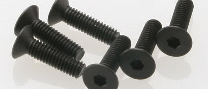 TRA2546 Traxxas 4x15mm Flat Head Screws (6)
