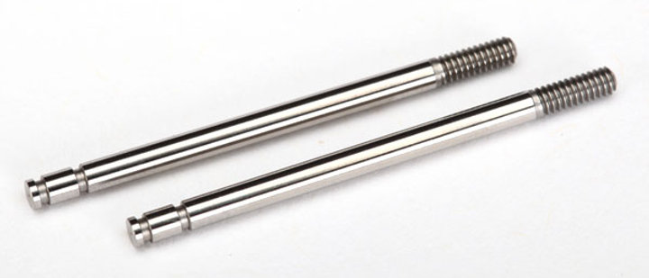 TRA7663 Traxxas Shock shafts, steel, chrome finish (2)