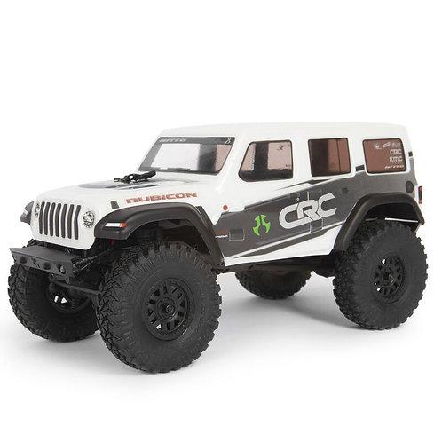 1/24 SCX24 2019 Jeep Wrangler JLU CRC Rock Crawler 4WD RTR, White