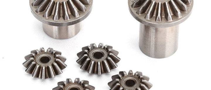 TRA8583 Traxxas Gear set, center differential (output gears (2)/ spider gears (4