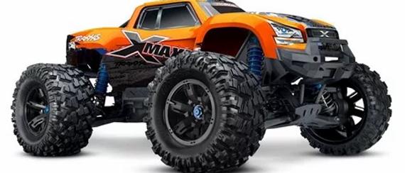 Traxxas X-Maxx 4WD Brushless RTR 8S Monster Truck - Orange-X