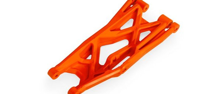 TRA7830T Traxxas Suspension arm, orange, lower (right, front or rear),