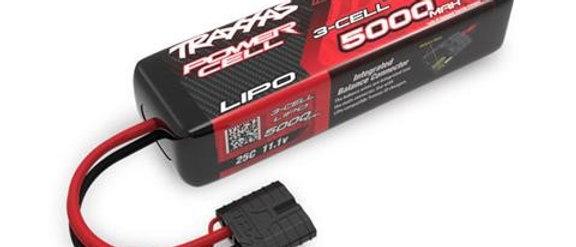 TRA2832X Traxxas 5000mAh 3S 11.1V 25C LiPo iD Connector Soft Case 135x29x44mm