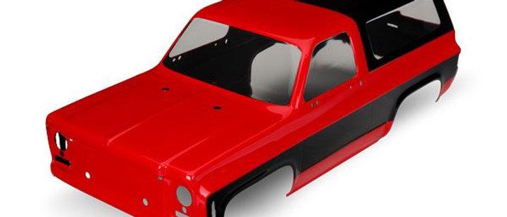 TRA8130A Traxxas 1979 Chevrolet Blazer Body - Red