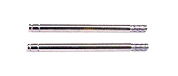TRA1664 Traxxas Shock shafts, steel, chrome finish (long) (2)