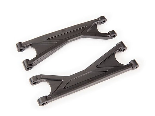Traxxas Suspension arm, black, upper (left or right, front or rear), heavy dut(2