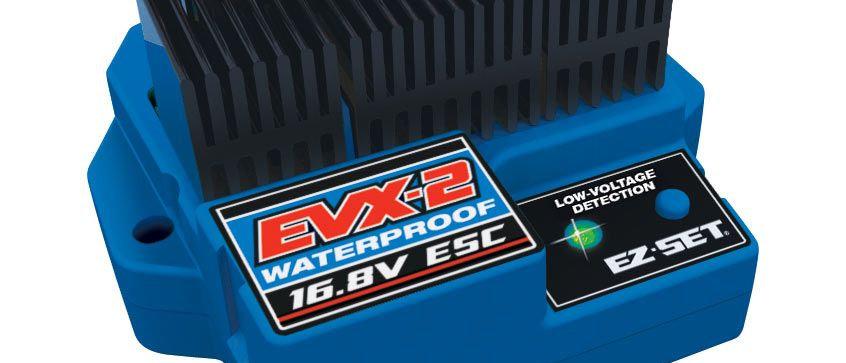 TRA3019R Traxxas EVX-2 Forward/Reverse Speed Control (Waterproof)