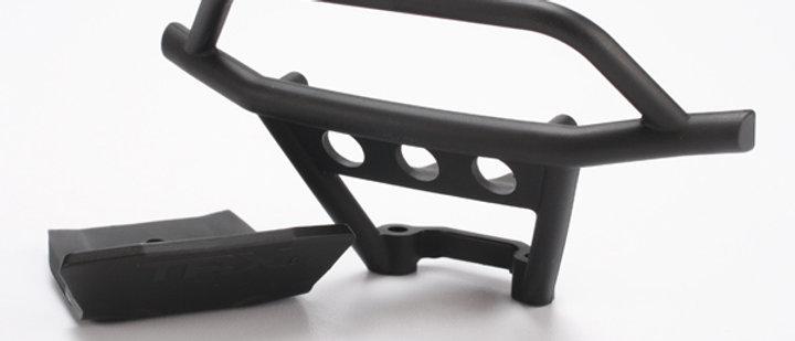 TRA6735 Traxxas Front Bumper/Skidplate Set (Black)