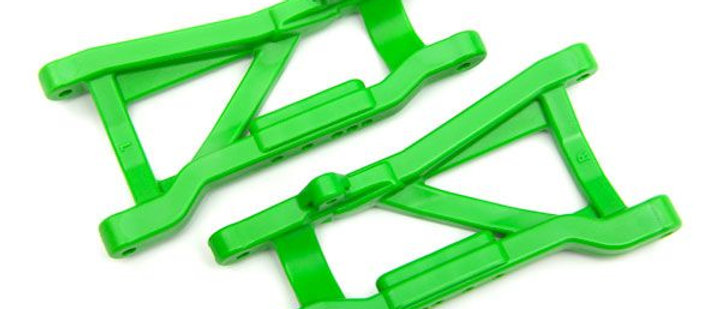 TRA2555G Traxxas Suspension arms, rear (green) (2) (hD, cold weather material)