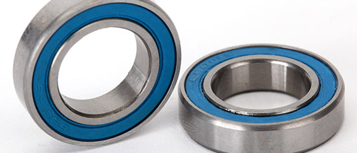 TRA5101 Traxxas Ball bearings, blue rubber sealed (12x21x5mm) (2)