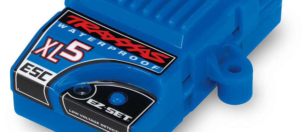 TRA3018R Traxxas XL-5 Waterproof ESC w/Low Voltage Detection