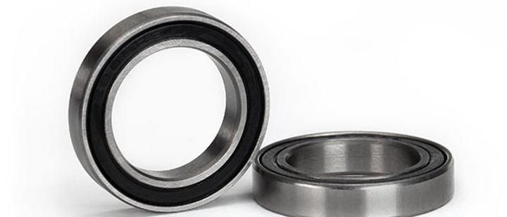 TRA5107A Traxxas Ball bearing, Black rubber sealed (17x26x5mm) (2)