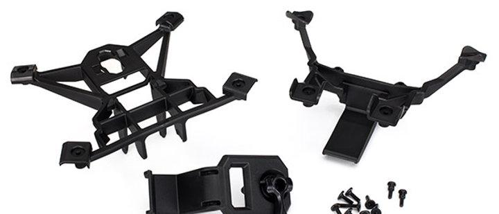 TRA7715 Traxxas X-Maxx Front & Rear Body Mount Set