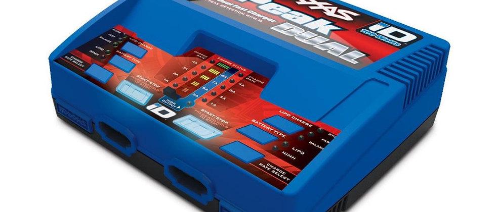 Traxxas 2972 Traxxas Charger, EZ-Peak Dual, 100W, NiMH/LiPo with iD Auto Batt