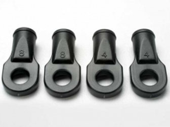TRA5348 Rod ends, Revo® (large, for rear toe link only) (4)