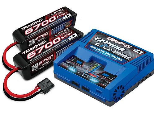 TRA2997 Traxxas EZ-Peak Live Dual 200W Multi-Chemistry Battery Charger (TRA2973)