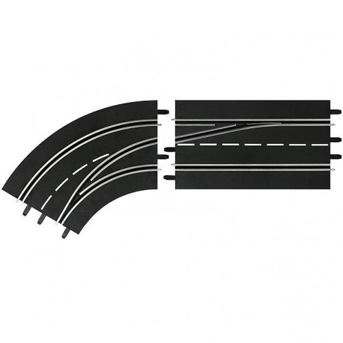 Carrera DIGITAL 30363 Lane Change Left Curve, Out to In