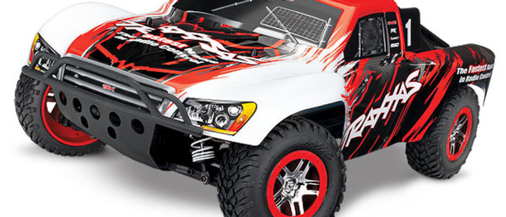TRA68086-4RED Traxxas Slash 4X4 Brushless 1/10 4WD RTR Short Course Truck Red