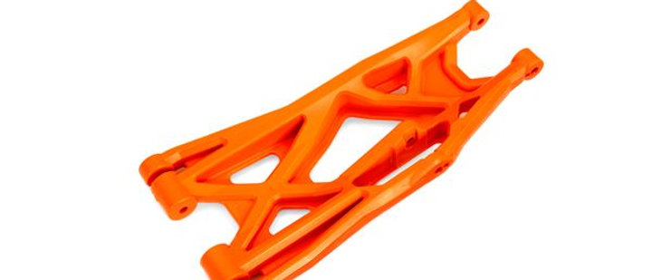 TRA7831T Traxxas Suspension arm, orange, lower (left, front or rear),