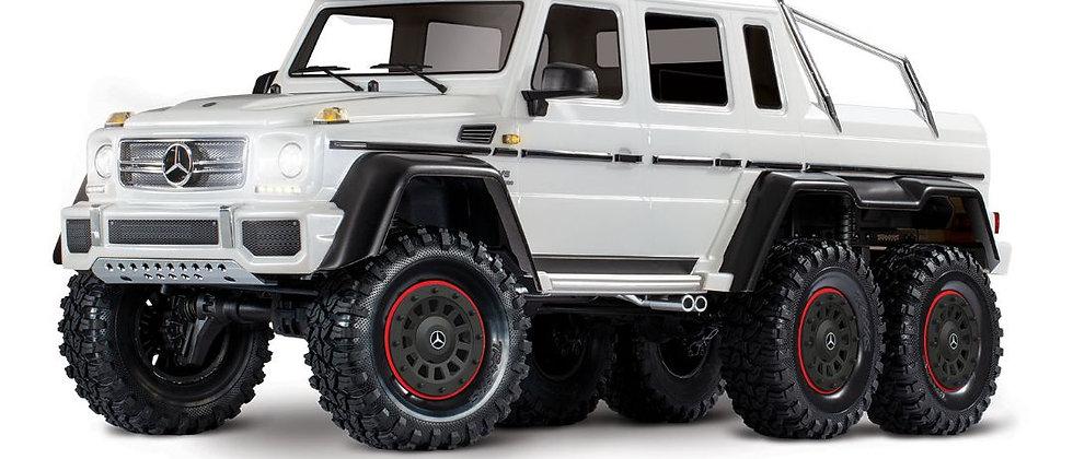 Traxxas Mercedes-Benz G 63 AMG TRX6 6x6 1/10 Crawler -Blanc