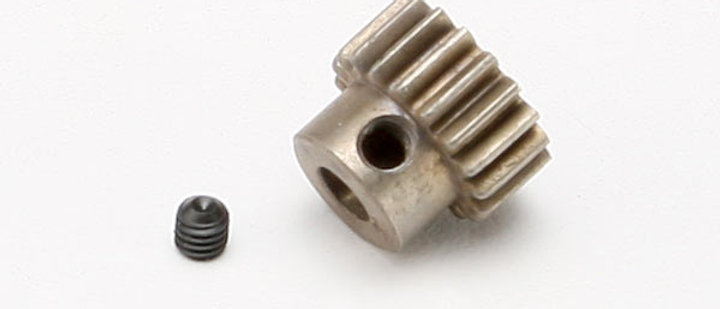 TRA5644 Traxxas Gear, 18-T pinion (0.8 metric pitch, (fits 5mm shaft)/ set screw