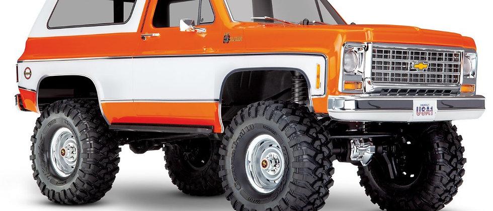 Traxxas TRX4 79 Chevy Blazer 1/10 Crawler, Orange