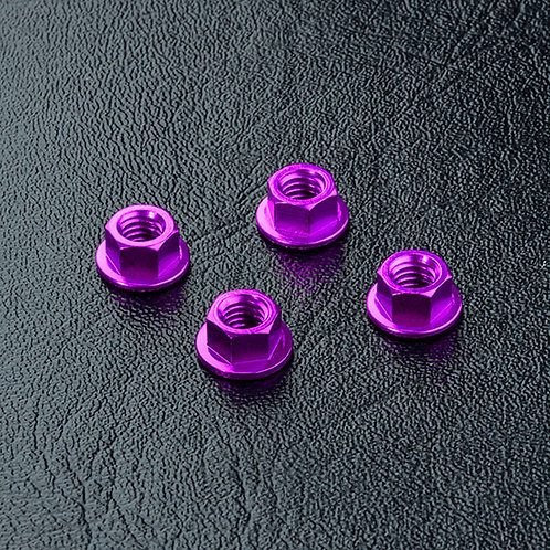 820001P Alum. wheel nut (purple) (4)