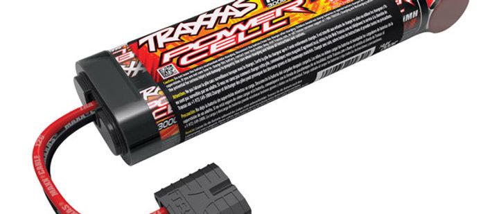 TRA2923X Traxxas Power Cell 3000mAh 8.4V NiMH Battery iD Plug