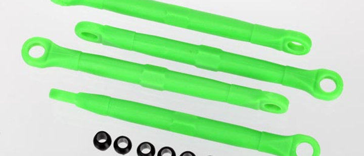 TRA7038A Traxxas Toe Link, Front & Rear, Green (Molded Composite) (Green)