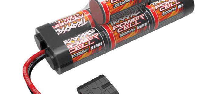 tra2926x Traxxas Power Cell 3000mAh 8.4V NiMH iD Plug Hump 140x45x45mm