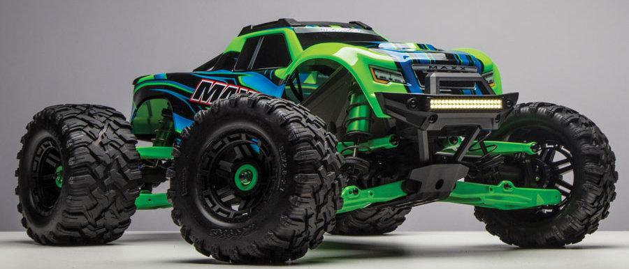 TRA77086-GREEN Traxxas X-Maxx 4WD RTR 8S Monster Truck TQi Radio & TSM GreenX
