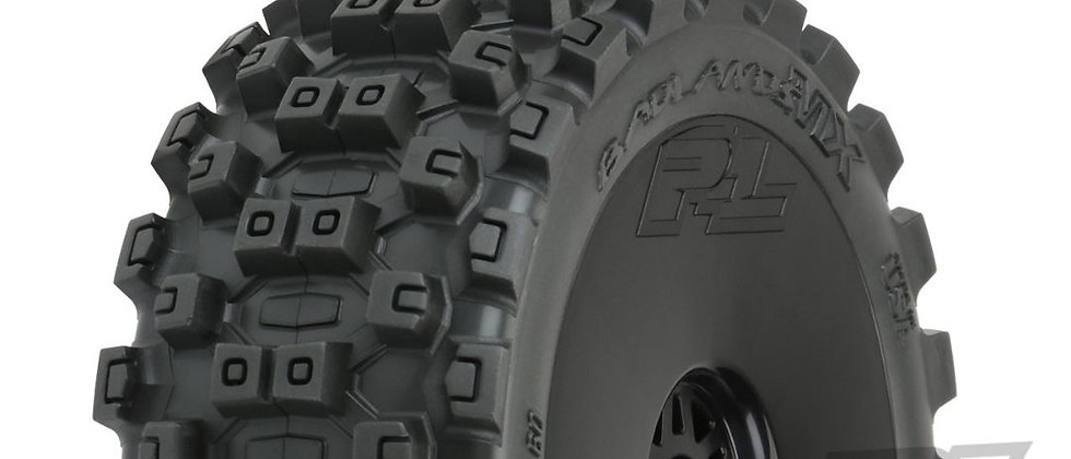 PRO9067-4 Pro-Line Badlands MX M2 1/8 Buggy MTD Black Wheels F/R