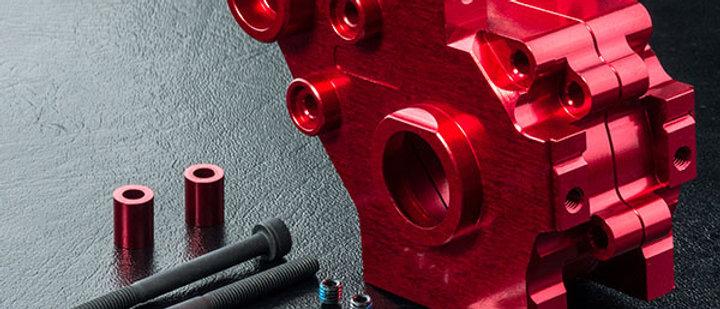 210604R RMX 2.0 alum. rear gearbox (red)