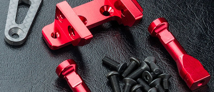 210601R MST RMX 2.0 Alum. adj. front connect mount (rouge
