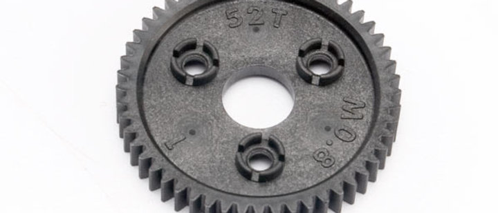 TRA6843 Traxxas Spur gear, 52-tooth (0.8 metric pitch, compatible with 32-pitch)