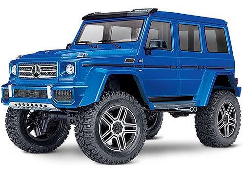 Traxxas TRX4 Mercedes G 500 4X4 1/10 Crawler, XL-5 HV, Titan 12T Blue
