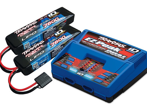TRA2991 Traxxas EZ-Peak Dual Multi-Chemistry Battery Charger (TRA2972)