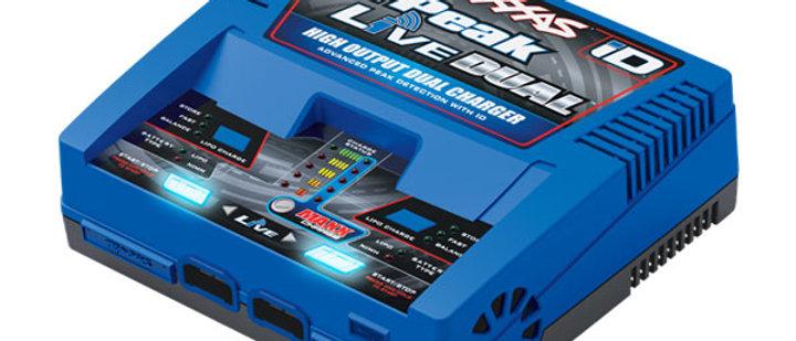 tra2973 Traxxas Charger, EZ-Peak Live Dual, 200W, NiMH/LiPo