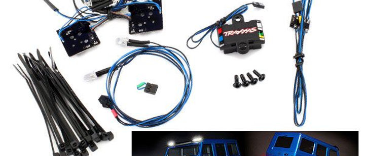 TRA8899 Traxxas Mercedes LED light set (contains headlights, tail lights, )