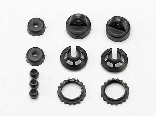 TRA7065 Traxxas GTR Shock Caps w/Spring Retainers