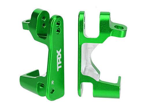 TRA6832G Traxxas Aluminum Caster Block Set (2) (Green)