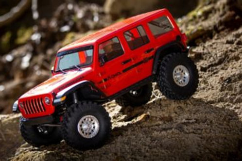 1/10 SCX10 III Jeep JLU Wrangler with Portals RTR, Orange (AXI03003T2)