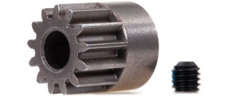 Traxxas Gear, 13-T pinion 0.8 metric pitch, compatible with 32-pitch fits 5mm sh