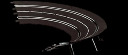Carrera 20574 High Banked Curve 1/30°, 6 Pieces