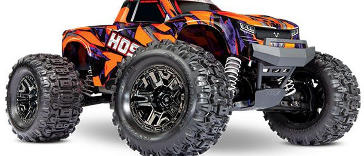 90076-4 Hoss 4X4 VXL 3S 4WD Brushless RTR Monster Truck (ORANG) w/TQi 2.4GHz Rad